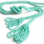 Vintage Rope Beaded Tassel..